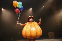 MIDNIGHT'S PUMPKIN   created by the company   design: Michael Vale   lighting: Malcolm Rippeth   choreographer: Etta Murfitt   directors: Mike Shepherd & Emma Rice ~Giles King (Pumpkin Man)~Kneehigh /...
