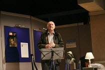 HAUNTING JULIA   by Alan Ayckbourn   design: John Brooking   lighting: Matthew Eagland   director: Andrew Hall ~Duncan Preston (Joe Lukin)~Mercury Theatre, Colchester, England   30/08/2012