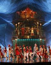 KOOZA   set design: Stephane Roy   costumes: Marie-Chantale Vaillancourt   makeup: Florence Cornet   lighting: Martin Labrecque   writer & director: David Shiner   'Charivari' Cirque du Soleil / Roy...