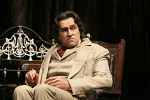 THE JUDAS KISS   by David Hare   design: Dale Ferguson   costumes: Sue Blane   lighting: Rick Fisher   director: Neil Armfield ~Rupert Everett (Oscar Wilde)~Hampstead Theatre production 09/2012 / revi...