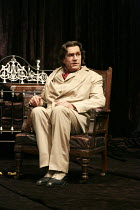 THE JUDAS KISS   by David Hare   design: Dale Ferguson   costumes: Sue Blane   lighting: Rick Fisher   director: Neil Armfield ~Rupert Everett (Oscar Wilde) ~Hampstead Theatre production 09/2012 / rev...