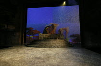 THE WINTER'S TALE   by Shakespeare   design: William Dudley   lighting: Oliver Fenwick   director: Lucy Bailey ~stage,set,empty ~Royal Shakespeare Company (RSC) / Royal Shakespeare Theatre (RST), Stra...