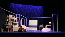 ONE FOR THE ROAD   by Willy Russell   design: Jessica Curtis   lighting: Philip Gladwell   director: Laurie Sansom ~stage,set,empty~Theatre Royal / Royal & Derngate, Northampton    England   05/02/201...