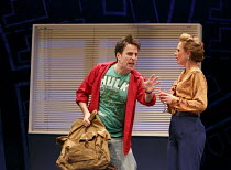 ONE FOR THE ROAD   by Willy Russell   design: Jessica Curtis   lighting: Philip Gladwell   director: Laurie Sansom ~Con O'Neill (Dennis), Nicola Stephenson (Jane)~Theatre Royal / Royal & Derngate, Nor...