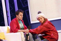 ONE FOR THE ROAD   by Willy Russell   design: Jessica Curtis   lighting: Philip Gladwell   director: Laurie Sansom ~Con O'Neill (Dennis), Michelle Butterly (Pauline)  ~Theatre Royal / Royal & Derngate...