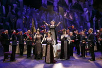 THE CAPTAIN OF KOPENICK   by Carl Zuckmayer   in a new English version by Ron Hutchinson   design: Anthony Ward   lighting: Neil Austin   director: Adrian Noble   The Regimental Mess Hall - front cen...