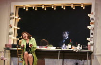 LA VOIX HUMAINE   by Poulenc   conductor: Wyn Davies   set design: Giles Cadle   costumes: Gabrielle Dalton   lighting: Andreas Fuchs   choreographer & director: Aletta Collins   Lesley Garrett (Elle...