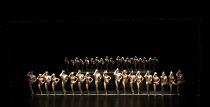 A CHORUS LINE   music: Marvin Hamlisch   lyrics: Edward Kleban   book: James Kirkwood & Nicholas Dante   set design: Robin Wagner   costumes: Theoni V Aldredge   lighting: (original) Tharon Musser & N...