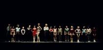 A CHORUS LINE   music: Marvin Hamlisch   lyrics: Edward Kleban   book: James Kirkwood & Nicholas Dante   set design: Robin Wagner   costumes: Theoni V Aldredge   lighting: Tharon Musser   co-choreogra...