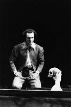HAMLET   by Shakespeare   design: Nick Ormerod   lighting: Rick Fisher & Judith Greenwood   director: Declan Donnellan   Timothy Walker (Hamlet)  Cheek by Jowl / Lyric Hammersmith (LTH), London W6...