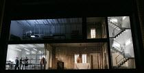 WRITTEN ON SKIN   composer & conductor: George Benjamin   text: Martin Crimp   design: Vicki Mortimer   lighting: Jon Clark   director: Katie Mitchell ~whole stage & set - centre: Christopher Purves (...
