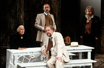 UNCLE VANYA   by Chekhov   in an English version by Pam Gems   design: Kenny Miller   lighting: Rick Fisher   directors: Peter Egan & Kenneth Branagh   l-r: Stella Moray (Marina), (front) Richard Br...