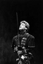 HENRY V   by Shakespeare   design: Bob Crowley   lighting: Robert Bryan   director: Adrian Noble    ~Kenneth Branagh (Henry V) LO-RES FOR SELECTION PURPOSES ONLY: HI-RES AVAILABLE TO ORDER~Royal Shake...