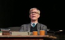 UNTOLD STORIES - COCKTAIL STICKS   by Alan Bennett   design: Bob Crowley   lighting: Tom Snell   director: Nichols Hytner   Alex Jennings (Alan Bennett) a National Theatre production / Duchess Thea...