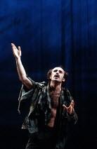 THE WINTER'S TALE   by Shakespeare   design: Ariane Gastambide   lighting: Ben Ormerod   director: Annabel Arden ~Marcello Magni (Autolycus)~Theatre de Complicite / Lyric Hammersmith, London W6  01/04...