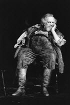 HENRY IV pt.i   by Shakespeare   design: John Napier   lighting: David Hersey   director: Trevor Nunn   Joss Ackland (Sir John Falstaff) Royal Shakespeare Company (RSC) / Barbican Theatre, Barbican...
