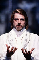 THE WINTER'S TALE   by Shakespeare   design: Gerard Howland   lighting: Terry Hands & Clive Morris   director: Terry Hands ~Jeremy Irons (Leontes)~Royal Shakespeare Company (RSC) / Royal Shakespeare T...