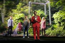 SUNKEN GARDEN   music: Michel van der Aa   libretto: David Mitchell   conductor: Andre de Ridder   set & lighting design: Theun Mosk   director: Michel van der Aa   l-r: Jonathan McGovern (Simon Vine...