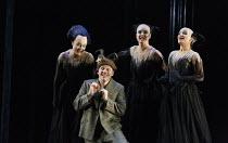 DIE ZAUBERFLOTE (The Magic Flute)   by Mozart   conductor: Julia Jones   design: John Macfarlane   lighting: Paule Constable   director: David McVicar   l-r: Hanna Hipp (Second Lady), Christopher Mal...