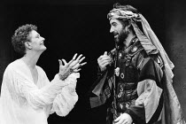 ANTONY AND CLEOPATRA   by Shakespeare   design: Simon Higlett   lighting: Pat Neider   directors: Toby Roberston & Christopher Selbie Vanessa Redgrave (Cleopatra), Timothy Dalton (Antony)Theatre Clwyd...