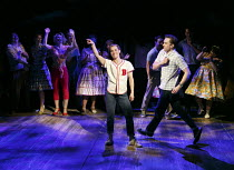 THE PAJAMA GAME   words & music: Richard Adler & Jerry Ross   book: George Abbott & Richard Bissell   design: Tim Hatley   lighting: Howard Harrison   choreographer: Stephen Mear   director: Richard E...
