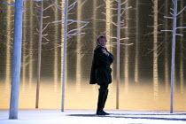 DON CARLO   by Verdi   design: Bob Crowley   lighting: Mark Henderson   original director: Nicholas Hytner ~opening scene, Carlos enters: Jonas Kaufmann (Don Carlos)  ~The Royal Opera (RO) / Covent Ga...