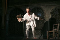 TITUS ANDRONICUS   by Shakespeare   design: Colin Richmond   lighting: Chris Davey   director: Michael Fentiman ~V/ii: Stephen Boxer (Titus Andronicus)~Royal Shakespeare Company (RSC) / Swan Theatre,...