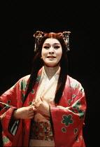 MACBETH   by Shakespeare   set design: Kappa Senoh   costumes: Jusaburo Tsujimura   lighting: Sumio Yoshii   director: Yukio Ninagawa ~Komaki Kurihara (Lady Macbeth)~Ninagawa Theatre Company, Tokyo,Ja...