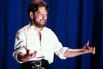 CORIOLANUS   by Shakespeare   design: Bunny Christie   lighting: Ben Ormerod   director: Tim Supple ~Kenneth Branagh (Caius Martius / Coriolanus) ~Chichester Festival Theatre (CFT) / Chichester, West...