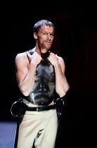 CORIOLANUS   by Shakespeare   design: Bunny Christie   lighting: Ben Ormerod   director: Tim Supple   Iain Glen (Tullus Aufidius)  Chichester Festival Theatre (CFT) / Chichester, West Sussex, Englan...