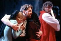 CORIOLANUS   by Shakespeare   design: Bunny Christie   lighting: Ben Ormerod   director: Tim Supple ~Susannah Harker (Virgilia), Kenneth Branagh (Caius Martius / Coriolanus) ~Chichester Festival Theat...