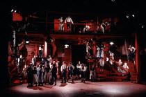 CORIOLANUS   by Shakespeare   design: Bunny Christie   lighting: Ben Ormerod   director: Tim Supple   citizens, crowd Chichester Festival Theatre (CFT) / Chichester, West Sussex, England   13/05/199...
