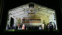 GLORIANA   music: Benjamin Britten   libretto: William Plomer   conductor: Paul Daniel   design: Ultz   lighting: Mimi Jordan Sherin   choreography: Lucy Burge   director: Richard Jones   front left:...