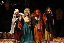 MACBETH - THE PROLOGUE   after Shakespeare   director: Vladislav Troitsky ~souls of the killed who pursue Macbeth~Dakh Centre for Contemporary Arts - Ukraine   ~BITE:07 / The Pit / Barbican Centre, Lo...