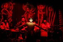 MACBETH - THE PROLOGUE   after Shakespeare   director: Vladislav Troitsky ~Dmytro Yaroshenko (Macbeth)~Dakh Centre for Contemporary Arts - Ukraine   ~BITE:07 / The Pit / Barbican Centre, London EC2...
