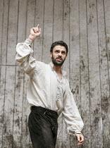 MACBETH   by Shakespeare   design: Mike Britton   director: Eve Best ~Joseph Millson (Macbeth)~Shakespeare's Globe (SG), London SE1   04/07/2013
