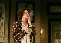 PRIVATE LIVES   by Noel Coward   design: Anthony Ward   lighting: Mark Henderson   director: Jonathan Kent ~Anna Chancellor (Amanda Prynne)~Chichester Festival Theatre 2012 production / Gielgud Theatr...