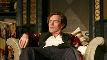 PRIVATE LIVES   by Noel Coward   design: Anthony Ward   lighting: Mark Henderson   director: Jonathan Kent ~Toby Stephens (Elyot Chase)~Chichester Festival Theatre 2012 production / Gielgud Theatre, L...