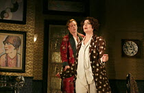 PRIVATE LIVES   by Noel Coward   design: Anthony Ward   lighting: Mark Henderson   director: Jonathan Kent ~Toby Stephens (Elyot Chase), Anna Chancellor (Amanda Prynne) ~Chichester Festival Theatre 20...