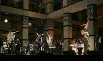 LA RONDINE   by Puccini   conductor: Marco Armiliato   set design: Ezio Frigerio   costumes: Franca Squarciapino   lighting: Vinicio Cheli   original director: Nicolas Joel    Act II - at Bulliers -...