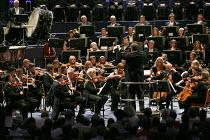 2013 BBC Proms   Prom #1   Sakari Oramo conducting Briten's Four Sea Interludes from 'Peter Grimes' BBC Symphony Orchestra: conductor: Sakari Oramo Royal Albert Hall, London SW7   12/07/2013