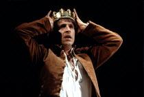 HENRY IV part ii   by Shakespeare   set design: Bob Crowley   costumes: Deirdre Clancy   lighting: Alan Burrett   director: Adrian Noble ~Michael Maloney (Henry / Hal) ~Royal Shakespeare Company (RSC)...