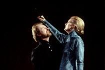 MACBETH   by Shakespeare   design: Bob Crowley   lighting: Jean Kalman   director: Richard Eyre ~Alan Howard (Macbeth), Anastasia Hille (Lady Macbeth) ~Olivier Theatre / National Theatre (NT), London...