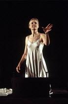 MACBETH   by Shakespeare   design: Bob Crowley   lighting: Jean Kalman   director: Richard Eyre ~Anastasia Hille (Lady Macbeth)~Olivier Theatre / National Theatre (NT), London SE1   01/04/1993