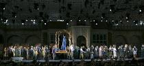 I gioielli della Madonna   'The Jewels of the Madonna'   by Wolf-Ferrari   conductor: Peter Robinson   design: Jamie Vartan   lighting: Colin Grenfell   director: Martin Lloyd-Evans   the procession...