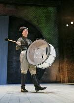 ALL'S WELL THAT ENDS WELL   by Shakespeare   design: Katrina Lindsay   lighting: Tim Lutkin   director: Nancy Meckler   Jonathan Slinger (Parolles) Royal Shakespeare Company (RSC) / Royal Shakespear...