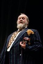 HENRY IV part ii   by Shakespeare   design: Chris Dyer   lighting: Mark Henderson   director: Michael Bogdanov ~Barry Stanton (Sir John Falstaff)~English Shakespeare Company (ESC) / The Old Vic, Londo...