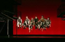 WEST SIDE STORY  book: Arthur Laurents  music: Leonard Bernstein  lyrics: Stephen Sondheim  after 'Romeo and Juliet' by Shakespeare  original choreography & direction: Jerome Robbins  director: Joey M...