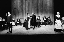 THE CRUCIBLE   by Arthur Miller   set design: Hayden Griffin   costumes: Deirdre Clancy   lighting: Rory Dempster   director: Bill Bryden l-r: Mark McManus (John Proctor), Dinah Stabb (Goodwife Elizab...