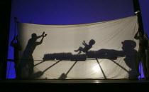 PAUL BUNYAN   music: Benjamin Britten   libretto: W H Auden   conductor: Peter Robinson   design: Jason Southgate   lighting: David Howe   director: William Kerley   Paul is born British Youth Opera...